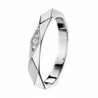 Пара обручальных колец с бриллиантами