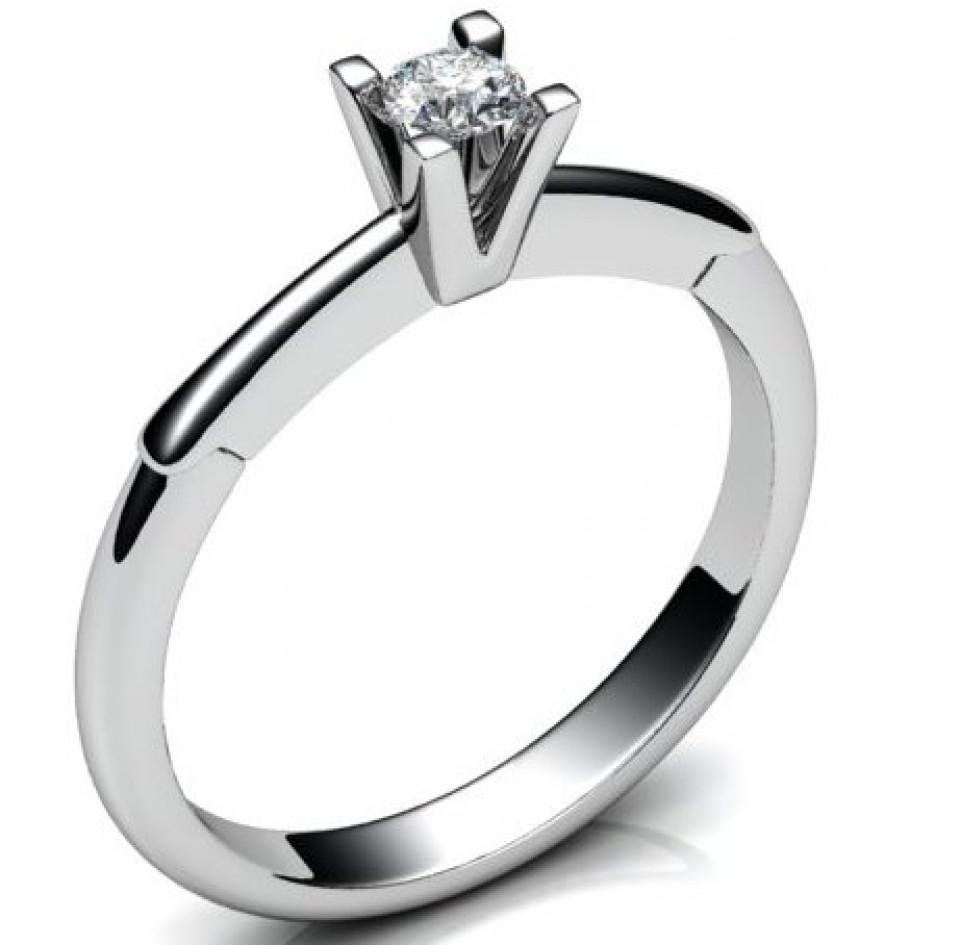Выбираем помолвочные кольца с бриллиантами